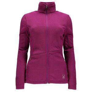 NWOT Spyder Pink Endure Zip-up Jacket